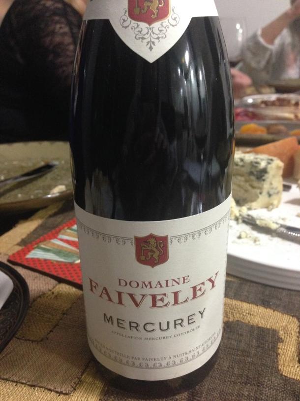 Wine #3 - Domaine Faiveley.