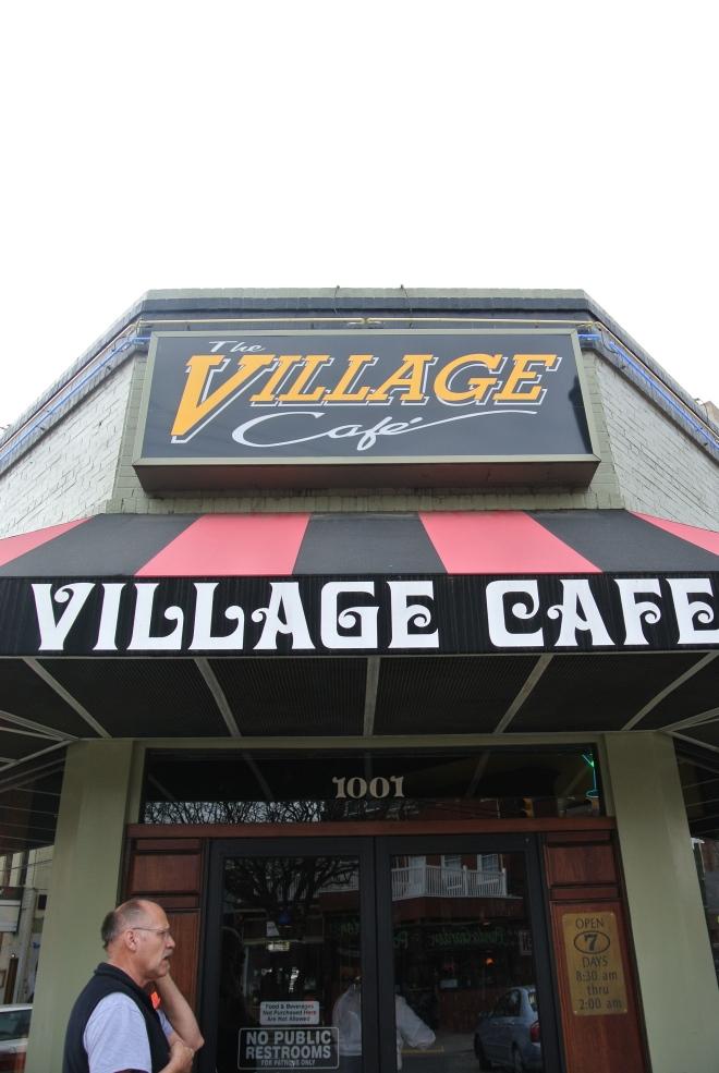 The Village Cafe in Richmond, Virginia.