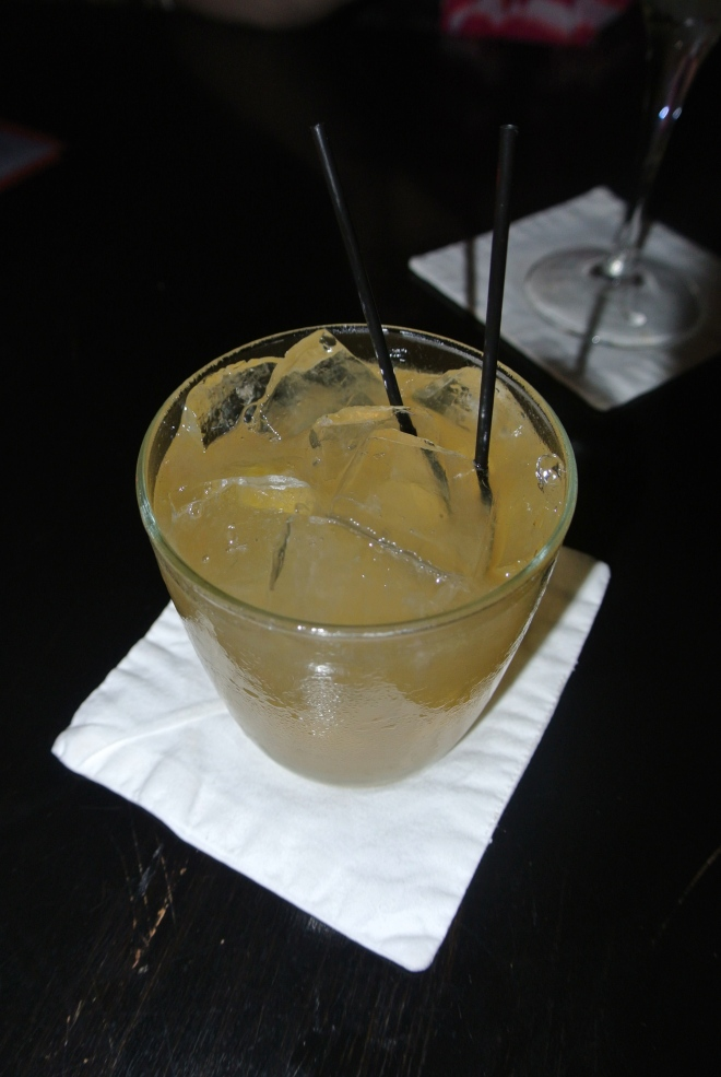 Whisky based cocktail.