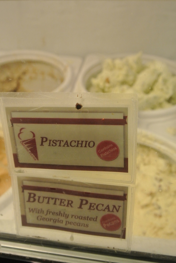Since we're in Georgia, we must have Butter Pecan.