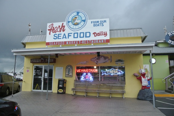Pelican Point Seafood store.
