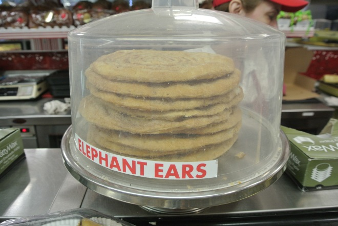 I love the name of these pastries, elephant ears!
