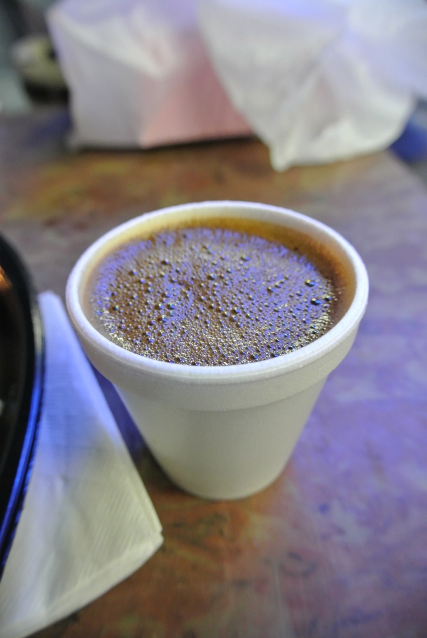 A delicious cup of greek coffee.