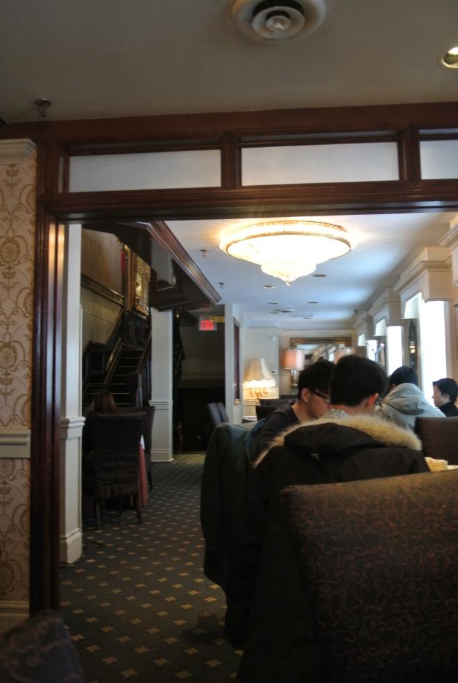 Inside Casa Imperial.