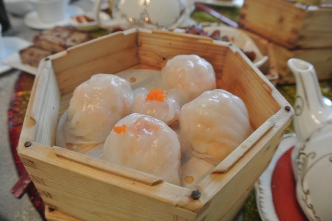 Har gow jumbo shrimp dumplings.