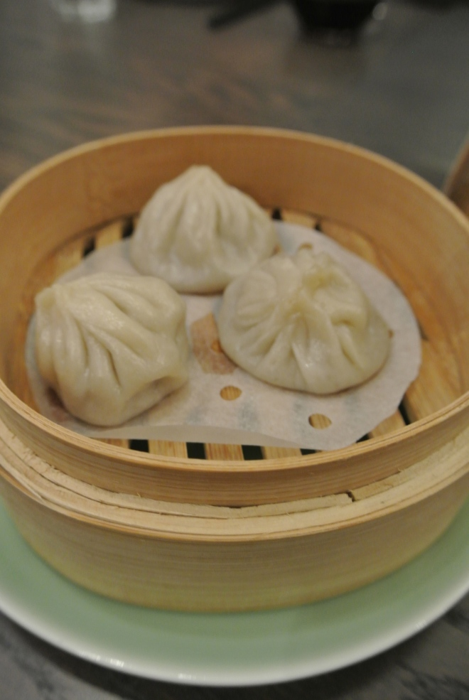 Little dragon buns filled with spicy sichuan lamb.