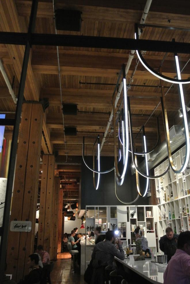 The bar at R&D.