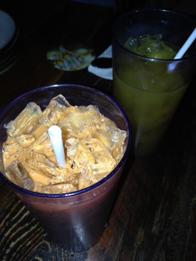 Famous thai iced tea.