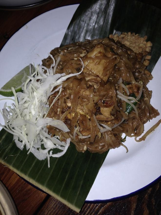 Chef Nuit Pad Thai.