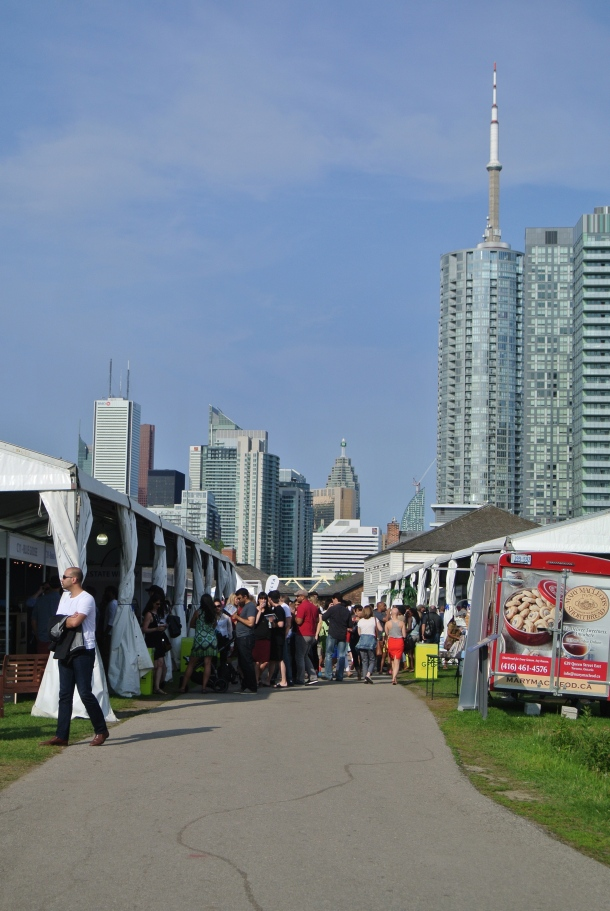 Taste of Toronto at the historic grounds of Fort York.