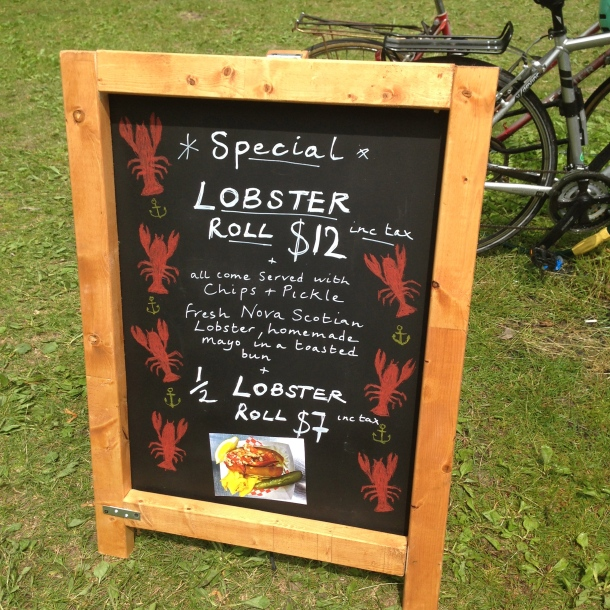 Maritime Pasty Co's menu.