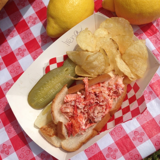 One of the best lobster rolls I've had recently.