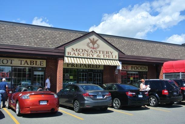 Monastery Bakery & Deli in Oakville, Ontario.