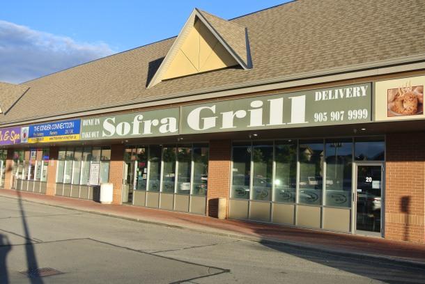Sofra Grill restaurant.