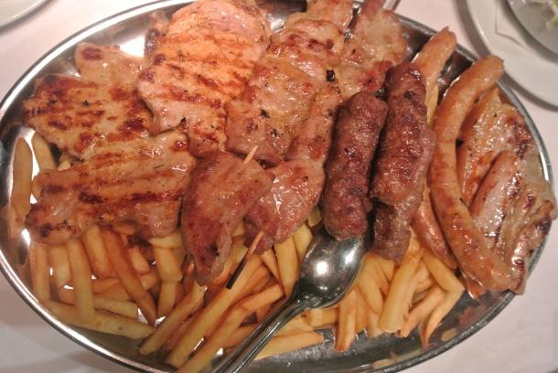 Samoborska - meat platter