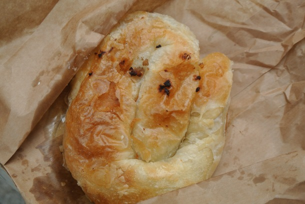 Delicious pastry stuffed with sir (Croatian cheese).