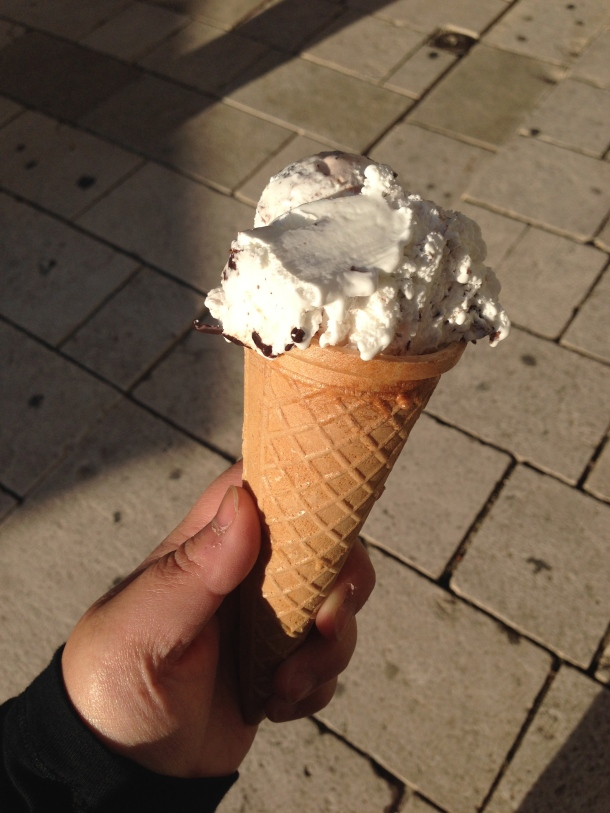 IceCream - stracciatella