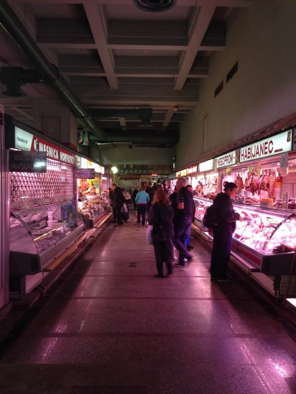 Dolac - meat market