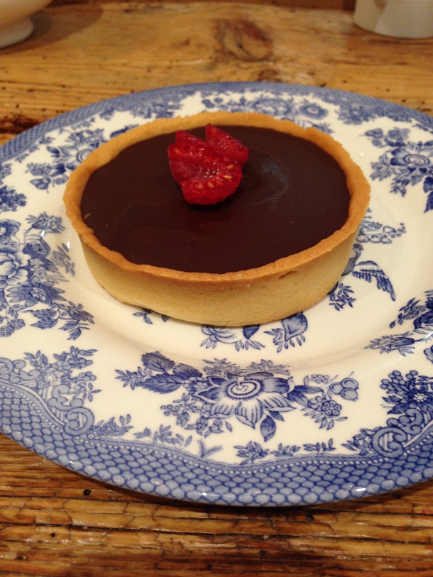 Maman - chocolate tart